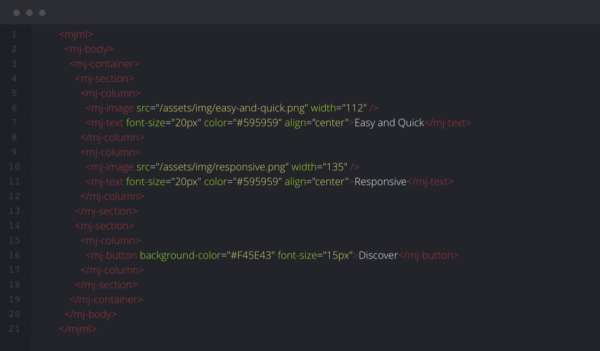 MJML for coding responsive email – Eric L  Barnes