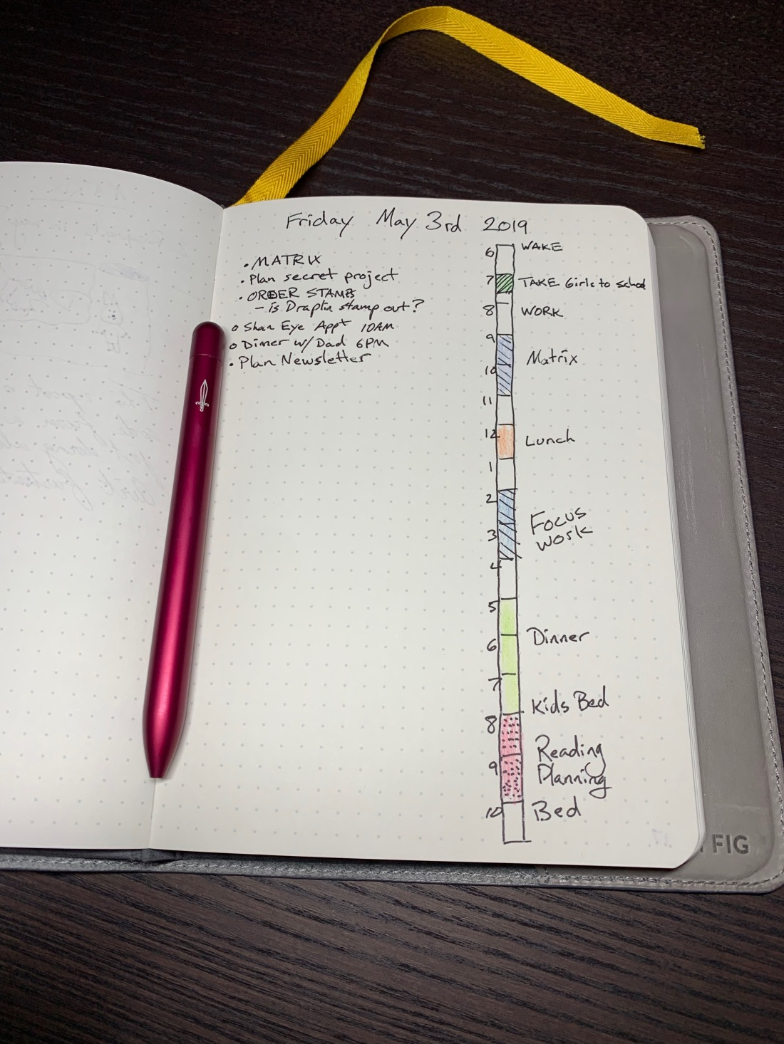bullet-journal-daily-log